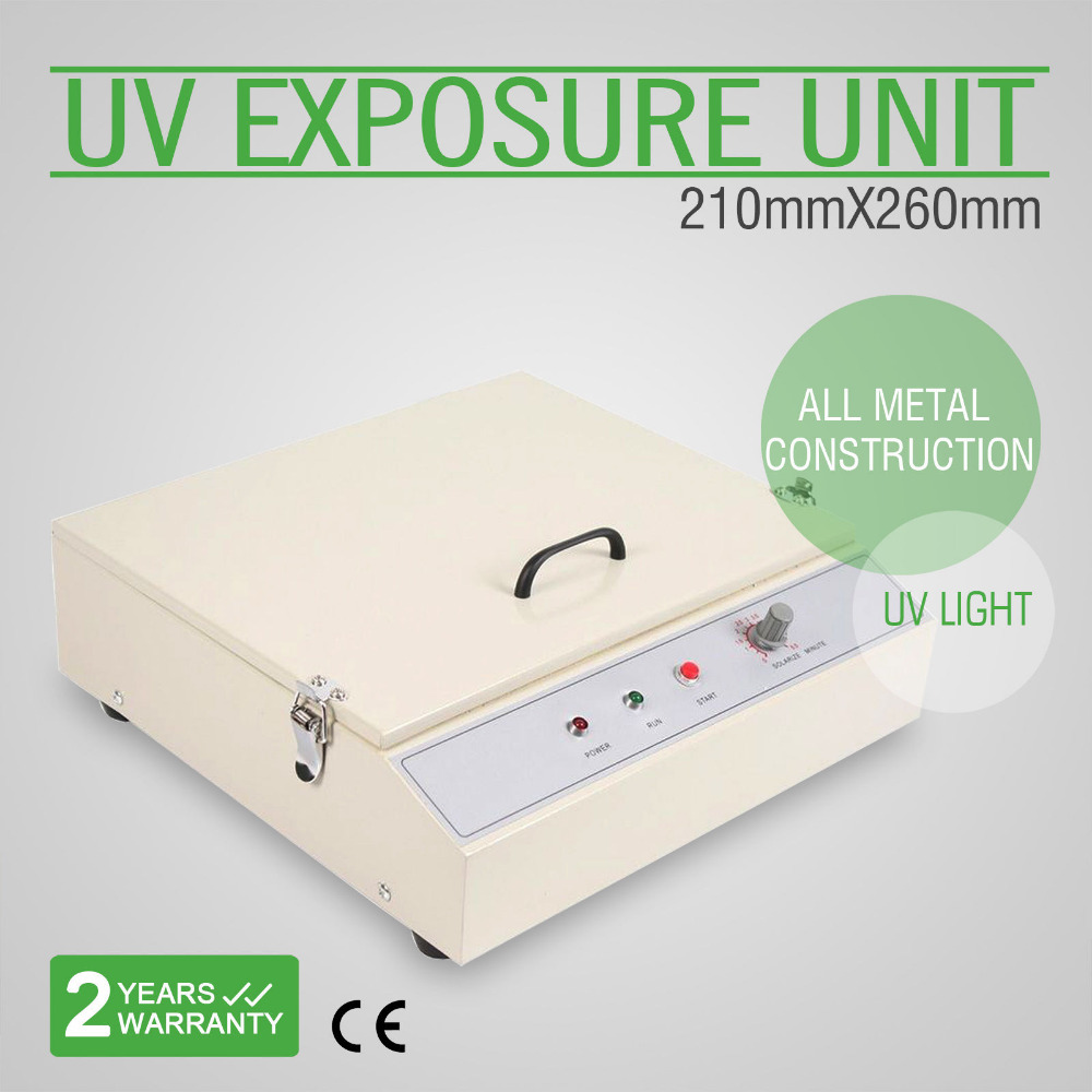 VEVOR UV Exposure Unit Screen Printing Exposure Unit Hot Foil Stamping Plate Making Tool DIY