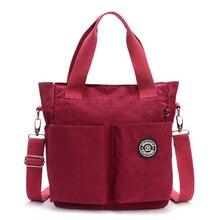 Mujeres de Nylon Impermeable del Bolso de Hombro de lujo bolsos mujeres Messenger Bags diseñador Cremallera Multifunción Bolsos de Viaje