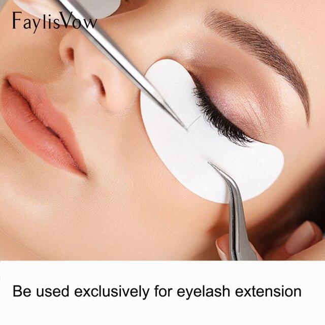 200 pairs Paper Patches Eyelash Under Eye Pads Lash Eyelash Extension Pillow Stickers Lint Free Tips Sticker Wraps Make Up Tools 2