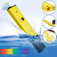PH 0.1-14.00 Portable Digital PH Meter Tester Pen for Aquarium Pool Water Quality Lab PH Monitor with ATC
