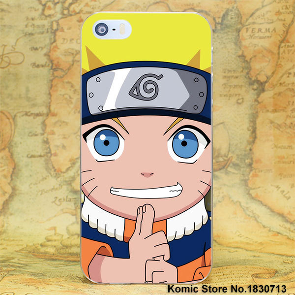 Anime cartoon Naruto one piece series  Case for Apple iPhone 7 6 6s Plus SE 4s 5 5s 5c