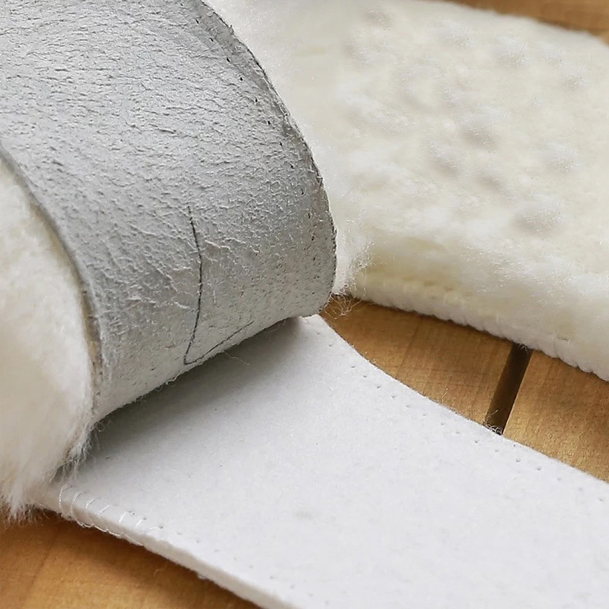 Plantillas de piel de oveja natural Cashmere Shearling térmico Botas - Accesorios de calzado - foto 6