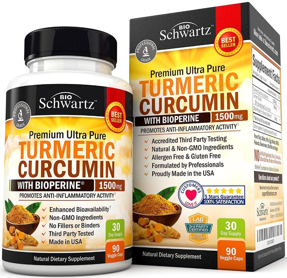 Free shipping Turmeric Curcumin with Bioperine 1500 mg 30 daysupply 90 pcsFree shipping Turmeric Curcumin with Bioperine 1500 mg 30 daysupply 90 pcs