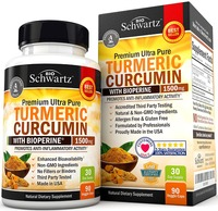 Free shipping Turmeric Curcumin with Bioperine 1500 mg 30 daysupply 90 pcs