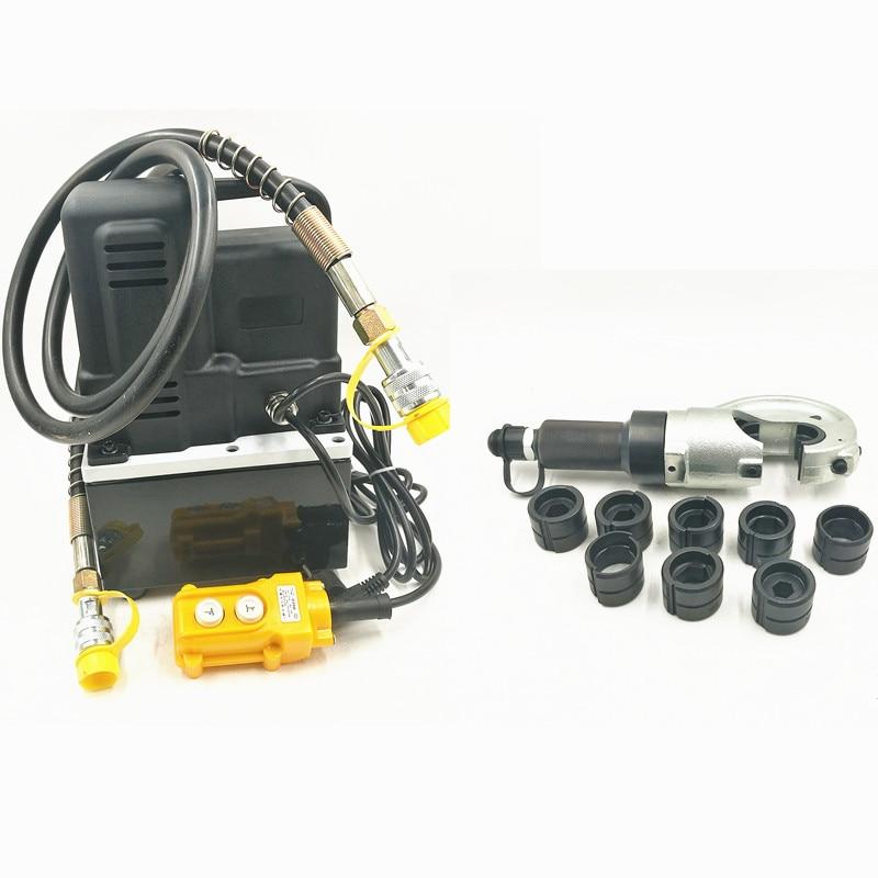 Électrique Pompe Hydraulique Avec EP-510H Split-type Hydraulique Pinces Dynamique Pression Fil Cutter Rapide-appuyant sur Pince 50- 400mm
