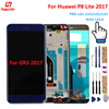 Huawei P8 Lite 2017 LCD Display Touch Screen With Frame Digitizer Assembly Replacement Panel For Huawei