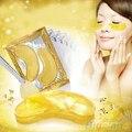 5 Packs Hidratante Belleza Hoja de Oro Ojo Cristalina Del Colágeno Máscara Parches Oculares 4E1C