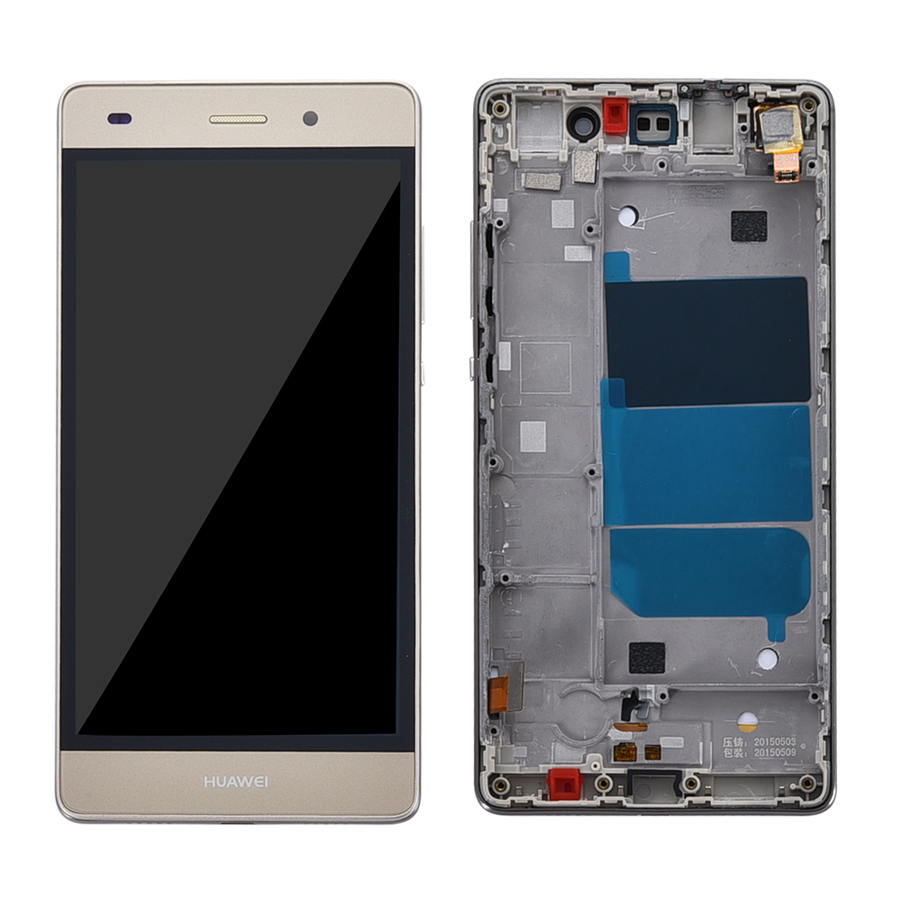 Image 4 - Для Huawei Ascend P8 Lite ALE L04 L21 TL00 L23 CL00 L02 UL00 ЖК дисплей Дисплей Сенсорный экран планшета Ассамблеи Замена с рамкой-in ЖК-экраны для мобильного телефона from Мобильные телефоны и телекоммуникации