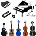 9 styles Musical Instruments Model USB flash drive violin/piano/guitar Pen drive 64gb 8gb 16gb 32gb flash memory stick u disk