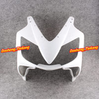 GZYF Upper Front Cover Cowl Nose Fairing for Honda CBR600RR F4i 2001 2002 2003, Injection Mold ABS Plastic, Unpainted