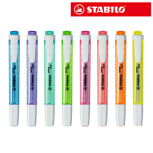 Image 1 - PenImported 8pcs/set STABILO Swing Cool Highlighter 275 cool pen Highlighter Marker Mark Colorful color