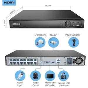 Image 4 - ANNKE 16CH 8MP POE NVR 4K Netzwerk Video Recorder NVR Für POE IP Kamera P2P Wolke Funktion Stecker Und spielen