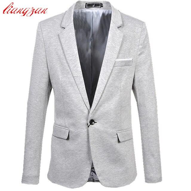 Hombres Blazer Suit Jacket Marca Business Casual Traje Masculino Chaqueta Más Tamaño 5XL 6XL Algodón Masculino Boda Traje Homme F2317