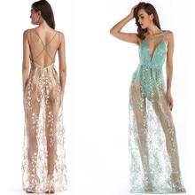 4641f58e31 MUXU vestido Gold Thread Embroidery sexy transparen summer dress sundress woman  clothes elegant party glitter long
