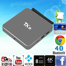 TX8 Android 6.0 Tv Box Amlogic S912 Octa core Set top box 2G 32G Android TV Box HDMI H.265 WIFI Media Player Smart tv caja