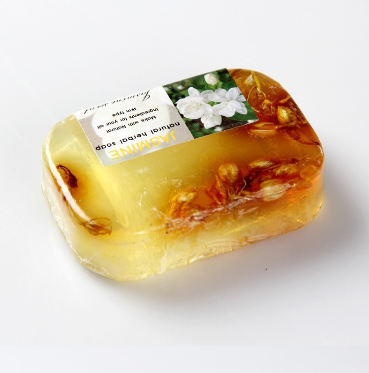5pcs Jasmine flower essential oil Soap set face & Body Beauty Healthy Care10 Style perfume soap acne bath soap removing mites