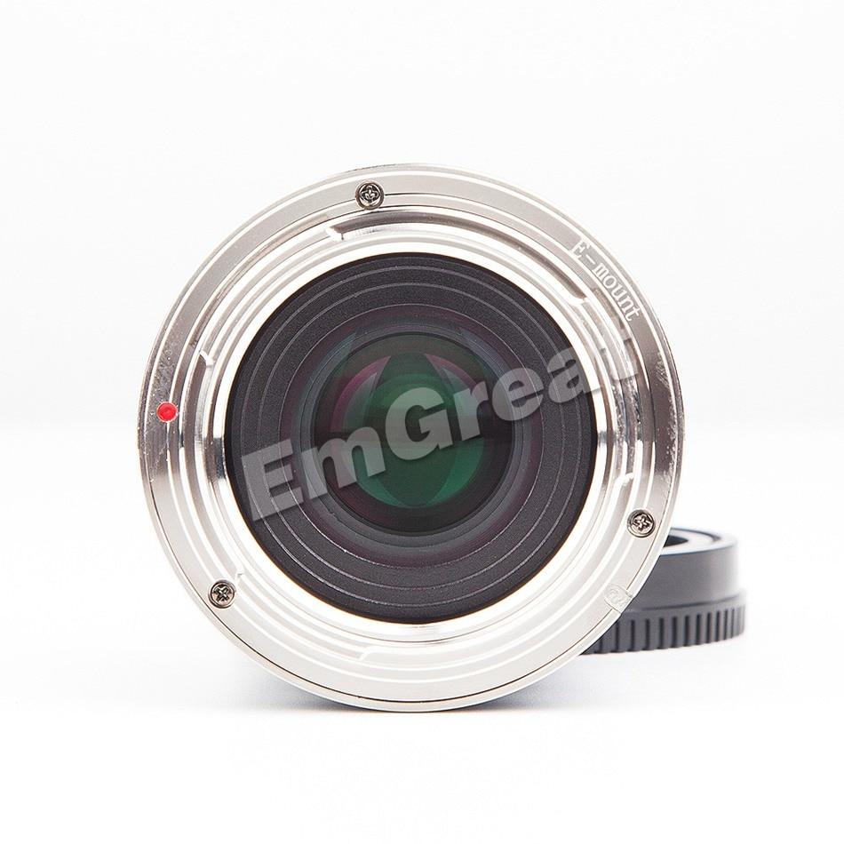 Image 4 - Zonlai 50mm F1.4 Prime Lens Large Aperture Manual Focus Lens 195g for Sony E mount for Fuji Canon EOS M Mount Mirrorless CameraCamera Lens   -