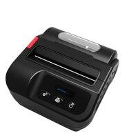 IMP023 как для получения и этикетки 3 дюймов 80 мм Портативный принтер Bluetooth Термальность принтер Android/iOS/окна с литиевой батареей