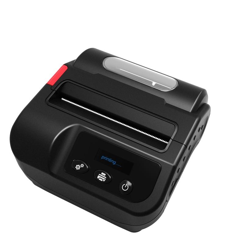 IMP023 pour la réception et l'étiquette 3 pouces 80mm imprimante Portable Bluetooth imprimante thermique Android/iOS/fenêtre avec batterie au Lithium