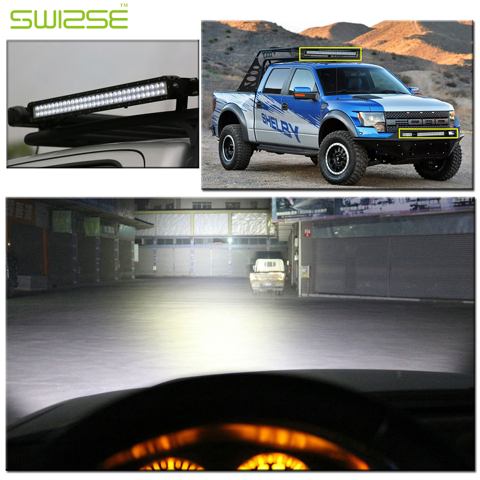 5D 200W 24 12V 24V Curved LED Light Bar External Combo Work Lights Off-road Driving Lamp Truck Trailer Car Lamps SUV ATV 4WD 2pcs dc9 32v 36w 7inch led work light bar with creee chip light bar for truck off road 4x4 accessories atv car light