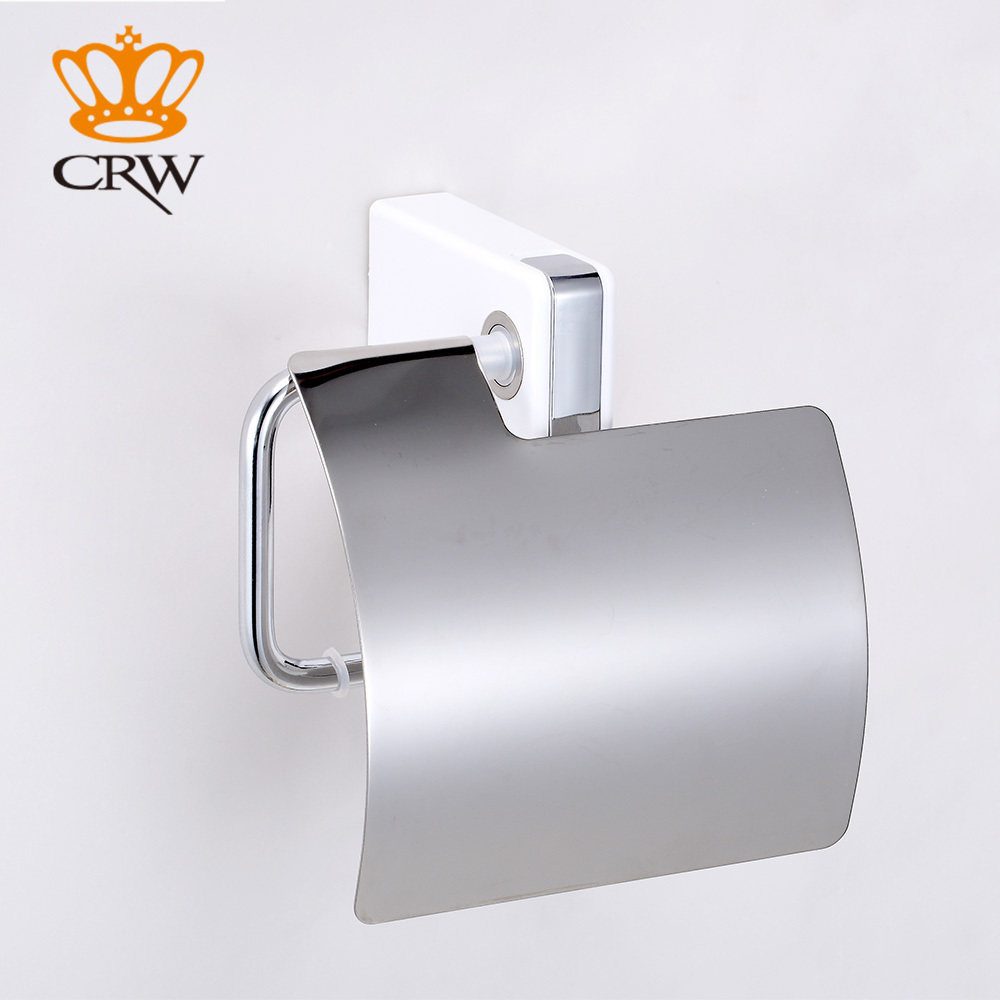 Crw Paper Towel Dispenser With Towel Robe Hook Chrome Wall Mounted Bathroom  Accessories F3111wc(china