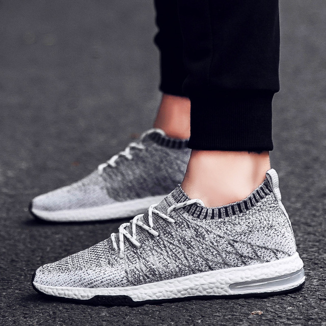 Men Sneakers Breathable Mix Color Type Running Shoes Men Jogging
