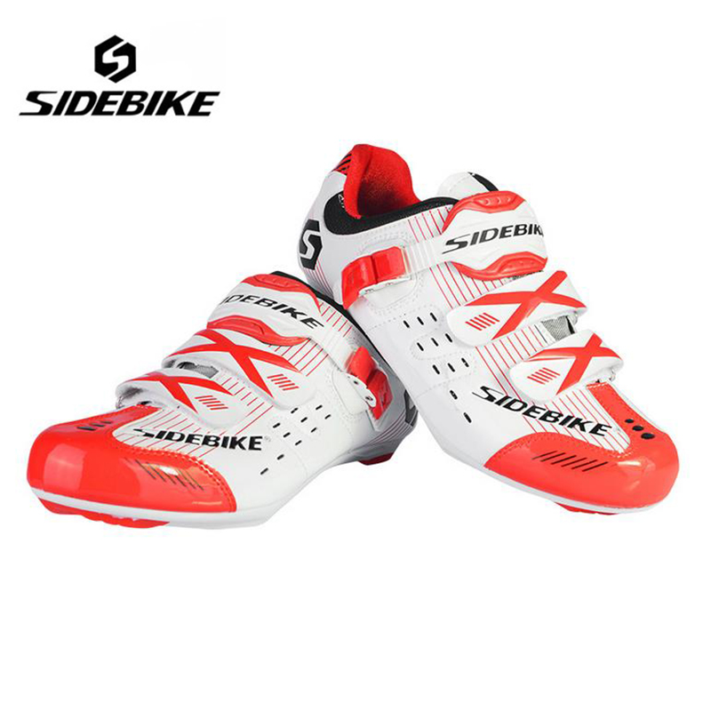 SIDEBIKE Professional Women Bike Shoes Road Bicycle Road Cycling Shoes self-lock locking Sapatilha Ciclismo Zapatillas sidebike mens road cycling shoes breathable road bicycle bike shoes black green 4 color self locking zapatillas ciclismo 2016