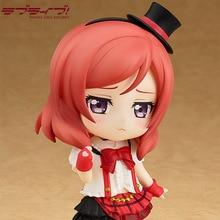 Love Live! Cute Nendoroid #516 Nishikino Maki Bokura Wa Ima No Naka De Ver. PVC Action Figure Toy Model Collection