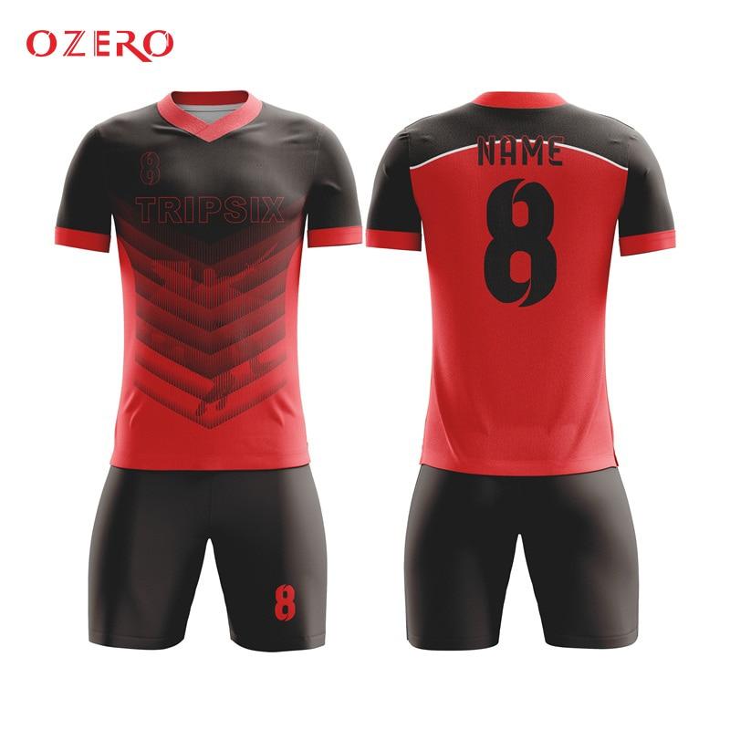 plain red football jersey