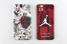 For iphone 6 6plus phone case soft TPU material of NBA Jordan and slam dunk design case for iPhone 6 6plus back cover