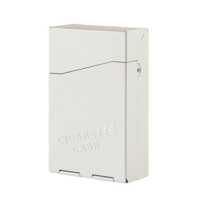 1 pc   Aluminum Cigar Cigarette Case Tobacco Holder Pocket Box Storage Container Drop Shipping