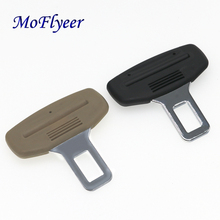 MoFlyeer Car Safety Seat Belt Clips Buckle Safety Stopper Belt Clips Car For Honda Toyota Opel Mazda BMW Car Styling Accessories ceyes car styling case for mazda for toyota alphard skoda bmw m nissan for seat kia auto seat belt cover accessories car styling