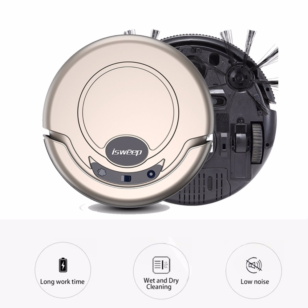 ISWEEP S320 Home Intelligent Robot 1200PA 4 Working Modes Cleaner Dry and Wet Robot Vacuum Cleaner Smart Sweeper
