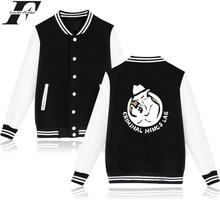 LUCKYFRIDAYF Criminal Minds Baseball Jacket American TV Shows Female Sweatshirt Plus Coat Baseball Jacket Women Spring