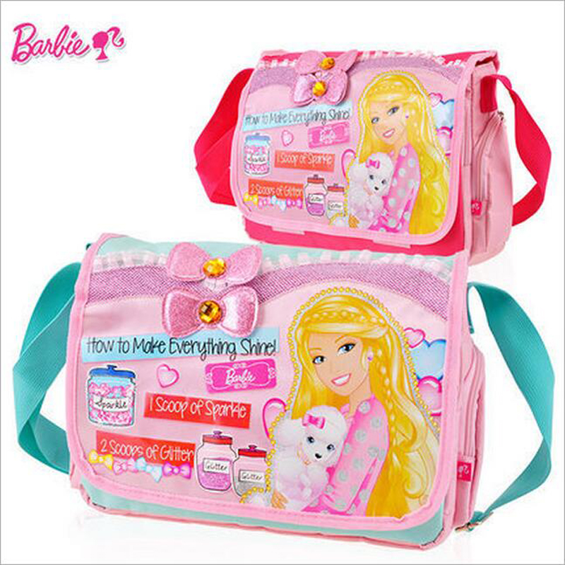 Genuine Barbie New Style Children School Bags For S Randoseru Kids Book Messenger Bag Handbag Dual Purpose In From Luggage