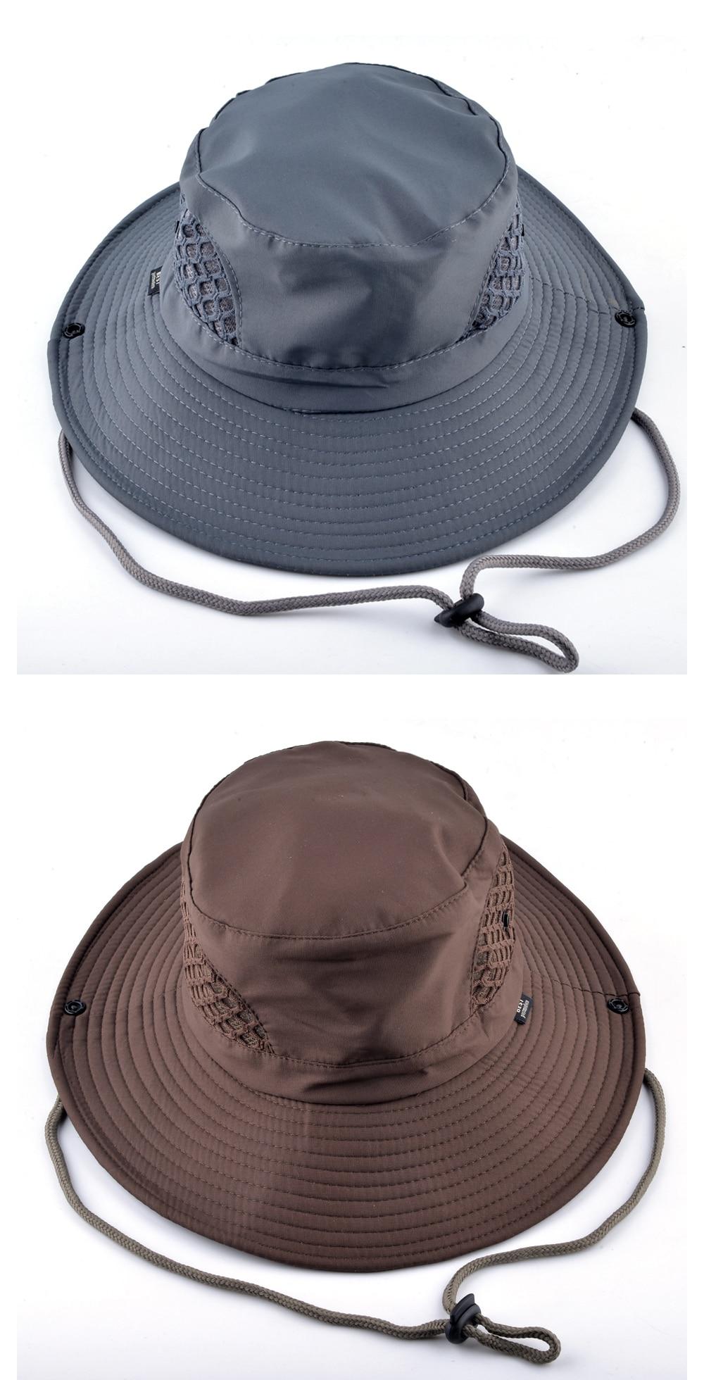b1bcdcf3521347 Товар Sun Hat men Bucket Hats women Summer Fishin Cap Wide Brim UV ...
