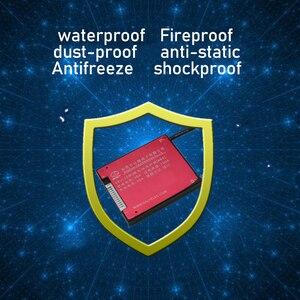 Image 3 - 10S 36 فولت بطارية ليثيوم لوح حماية BMS درجة الحرارة التحكم التوازن وظيفة مقاوم للماء 18650 يبو لي أيون 15A تهمة PCM