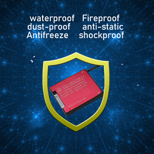 Image 3 - Placa de protección de batería de litio 10S 36V BMS función de equilibrio de Control de temperatura a prueba de agua 18650 lipo ion litio 15A carga PCM
