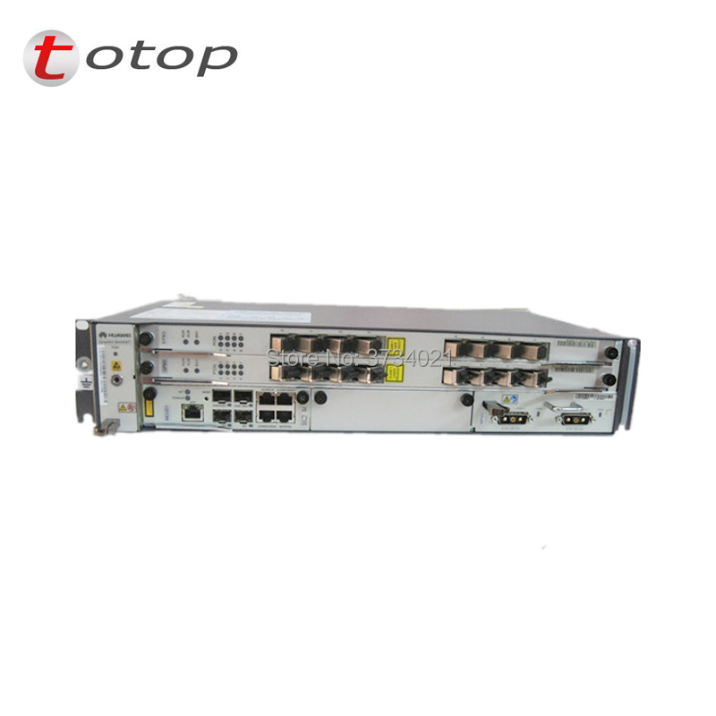 Hot Sale Original New Hua wei 19 inch OLT GPON OLT MA5608T DC, 1 * MPWC Power Line Optical Terminal, 1 * MCUD 1G control board