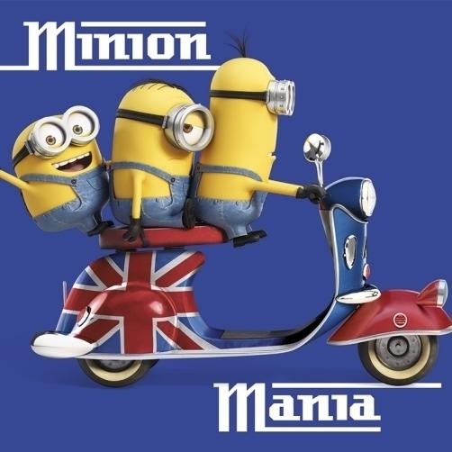 Minions Minion Mania Poster Print (36 x 24)