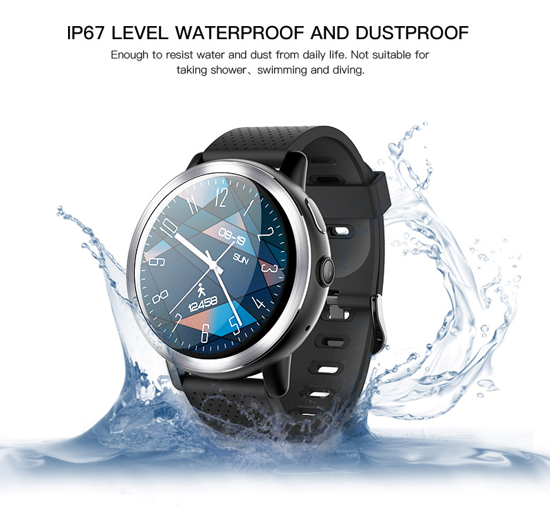 LEMFO LEM8 4G Smart Watch Android 7.1.1 GPS Smartwatch Men 2GB 16GB 580Mah Battery 1.39 Inch AMOLED Screen Sport Watch 19