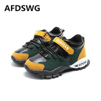 AFDSWG Thick Autumn And Winter Plush Fashion Shoes For Kids Boys Pink Casual Shoes For Kids