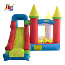 цена на Inflatable Bounce House with Slide Kids Indoor Outdoor Inflatable Jump Castle with Blower Kids Inflatable Trampoline Bouncer