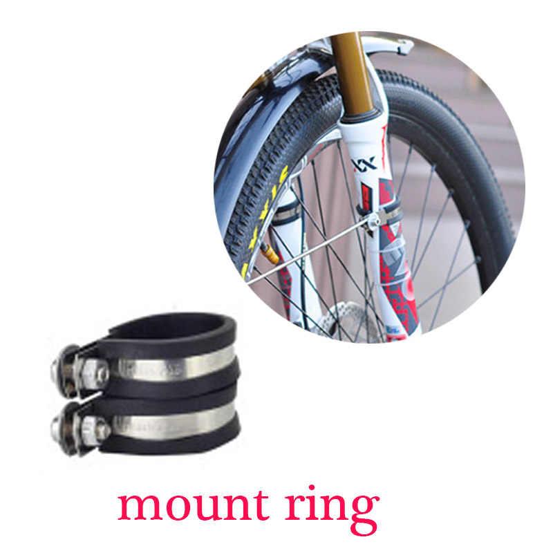 14 16 20 26 700c 27.5 29 polegada duplo suporte tamanho ajustável bicicleta fender paralama para bicicleta dobrável dianteiro e traseiro lama guarda