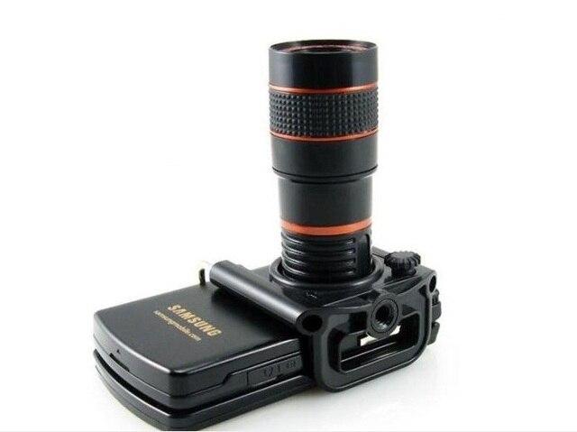 Universal mini 8x zoom optical lens mobile telescope for camera
