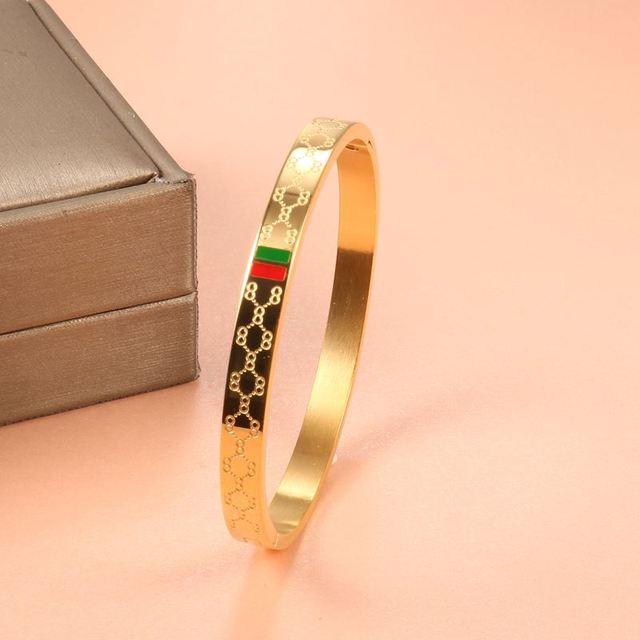 Charm Cuff Bracelets Bangle...