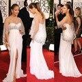 Jennifer Lopez en Globos de Oro Alfombra Roja con la Raja del Lado Lentejuelas Wrap Vestidos de La Celebridad 2017