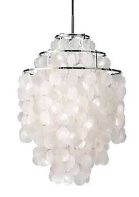 Sea rock shells Rustic pendant light natural shell lamp shell wind chimes pendant light restaurant lamp FG261