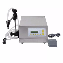 Best price perfume vial filling machine/small filling machine gfk-160 free ship