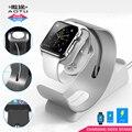 Antideslizante del diseño del sostenedor del soporte para el iphone de carga del muelle para apple watch ipad, iphone 4, ipad mini, ipad 3 de escritorio estación de acoplamiento